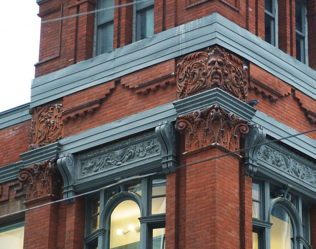 Historic building, 75 Victoria St, Toronto